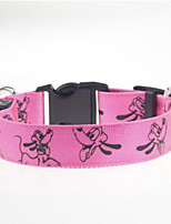 Collar Dog Training Collars Portable Adjustable Safety Cartoon Nylon