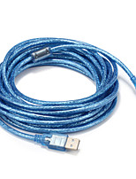 USB 2.0 Câble, USB 2.0 to Type Micro USB B Câble Male - Male 5.0m (16ft)