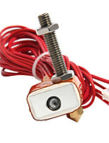Peça de reposição da impressora geeetech 3d Kit de 40w hotend para extrusora mk8