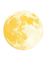 Luminous Wall Stickers Wall Decas Style Super Bright Moon PVC Wall Stickers
