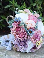Bouquets de Noiva Buquês Casamento Miçangas Renda 11.8