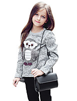Girls' Animal Blouse,Polyester Autumn/Fall Winter Long Sleeve Regular