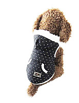 Dog Hoodie Dog Clothes Casual/Daily Polka Dots