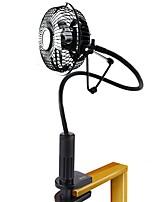 Mini ventilador de silicone com ventilador de silicone com cabo de 250 cm