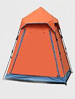 3-4 personnes Tente Double Tente de camping Tente automatique Garder au chaud Résistant à la poussière pour Camping / Randonnée CM Autre