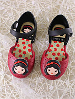 Girls' Sandals Comfort PVC Summer Casual Comfort Blushing Pink Ruby Gray Flat