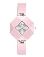 Жен. Модные часы Кварцевый Керамика Группа Розовый