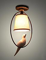Lampada a sospensione 40w, caratteristica pittura tradizionale / classica per mini legno in stile / sala bambooliving / camera da letto /