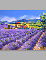 IARTS® Hand Painted Oil Painting Vintage Summer Provence Abstract Art Acrylic Canvas Wall Art For Home Decoration