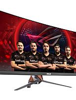 Asus rog swift monitor de computador de jogo curvo 34 polegadas 21: 9 ultra-wide qhd (3440x1440) overclockable 100hz g-sync