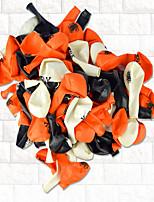 Terrorist Design Skeleton Pumpkin Balloon Color Random
