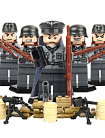 Building Blocks Educational Toy For Gift  Building Blocks Warrior ABS 6 Years Old and Above Toys