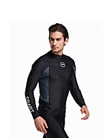2017 Male Swimwear Long Sleeve Sunscreen Swimming Tops Vacations Hot Springs Snorkeling Suit Adult