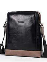 Women Shoulder Bag PU All Seasons Casual Outdoor Round Zipper Black