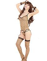 Costumes Vêtement de nuit Femme,Sexy Léopard Léopard