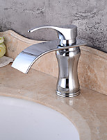 Electroplated Single Handle One Hole  ,  Feature  for Waterfall