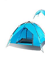 3-4 personnes Sac de Voyage Tente pliable Tente de camping Matériel water proof Garder au chaud
