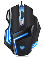 AULA Wired 7Keys 2000DPI Game Mouse With 180CM Cable