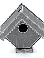 Puzzles Kit de Bricolage Puzzles 3D Puzzles en Métal Blocs de Construction Jouets DIY  Architecture Aluminium