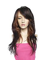 Femme Long Noir Frisés Perruque afro-américaine Pour les femmes noires Cheveux Synthétiques Sans bonnet Perruque Naturelle