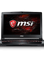 Msi gaming laptop 14 polegadas intel i7-7700hq 8gb ddr4 1tb hdd 128gb ssd windows10 gtx1060 6gb gs43vr 7re-045cn