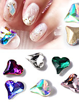 10 Manucure Dé oration strass Perles Maquillage cosmétique Nail Art Design