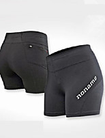 Men's Women's Running Shorts Shorts for Running/Jogging Exercise & Fitness Tight Black