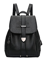 IMBETTUY Women's Fashion Splicing PU Leather Backpack