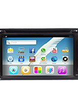 Rungrace hot sale android6.0 6.2 radio de voiture 2din avec dvd / wifi / gps / radio / bluetooth rl-257agn02