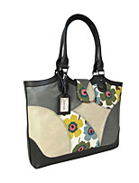 Women Bags All Seasons Cowhide Shoulder Bag with for Casual Gray