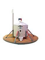 Quebra-cabeças Kit Faça Você Mesmo Quebra-Cabeças 3D Blocos de construção Brinquedos Faça Você Mesmo Nave Espacial