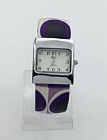 Жен. Наручные часы Кварцевый Металл Группа Кольцеобразный Синий Фиолетовый