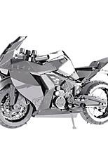 Kit de Bricolage Puzzles 3D Puzzle Puzzles en Métal Moto Jouets Moto 3D A Faire Soi-Même Non spécifié Pièces