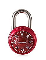 MASTER LOCK 1530 Password Lock 3 Digit Password Door Lock Dail Lock and Password Lock
