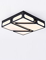 Montagem embutida moderna / contemporânea para led metal sala de estar quarto sala de jantar cozinha