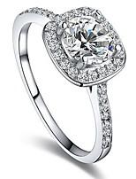 Ring Settings Ring Band Rings Women's Euramerican Luxury Elegant Creative Zircon Geometric Wedding Birthday Party Movie Gift Jewelry