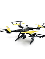 Drone JJRC H39WH Black 4CH 6 Axis With 720P HD Camera FPV LED Lighting Headless Mode 360Rolling Access Real-Time Footage HoverRC