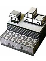 Quebra-cabeças Kit Faça Você Mesmo Quebra-Cabeças 3D Blocos de construção Brinquedos Faça Você Mesmo Construções Famosas