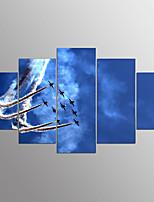 Stampe a tela Astratto,Cinque Pannelli Tela Orizzontale Stampa Decorazioni da parete For Decorazioni per la casa