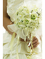 YuXiYing Hemispherical Small Rose Wedding Bride Bouquet  16 cm In Diameter More Colors