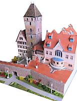 Jigsaw Puzzles DIY KIT 3D Puzzles Building Blocks DIY Toys Famous buildings