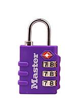 MASTER LOCK 4684MCND Zinc Alloy Password Padlock 3 Digit Password TSA Lock Customs Lock Bag Lock Dail Lock Password Lock