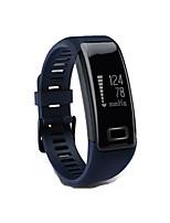 Hombre Reloj Smart Reloj de Moda Digital Resistente al Agua Podómetro Caucho Banda Negro Azul Morado