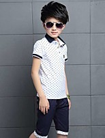 Boys' Polka dots Sets,Cotton Summer Clothing Set