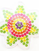 1шт 5мм плавкий предохранитель бисер прозрачный шаблон пэгборд шаблон цветка форма hama perler бисер pegboard kid diy образовательное