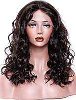 Premier ® Loose Curly Wave Lace Front Wig Virgin Hair Elastic Glueless 100% Braailian Human Hair with Baby Hair For African Americans