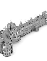 Jigsaw Puzzles 3D Puzzles Metal Puzzles Building Blocks DIY Toys Round Aluminium