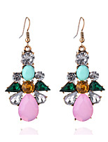 Women's Girls' Drop Earrings Women's Girls' Rhinestones Euramerican Elegant Classic Party Dailywear  Movie Jewelry