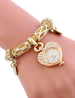 Mulheres Relógio Esportivo Relógio de Moda Bracele Relógio Único Criativo relógio Relógio Casual Quartzo Lega BandaPendente Casual