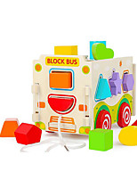 Building Blocks Pegged Puzzles For Gift  Building Blocks Wooden 1-3 years old 3-6 years old Toys